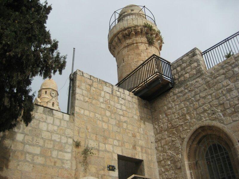 вид на Старый город от Сионских ворот 2.JPG