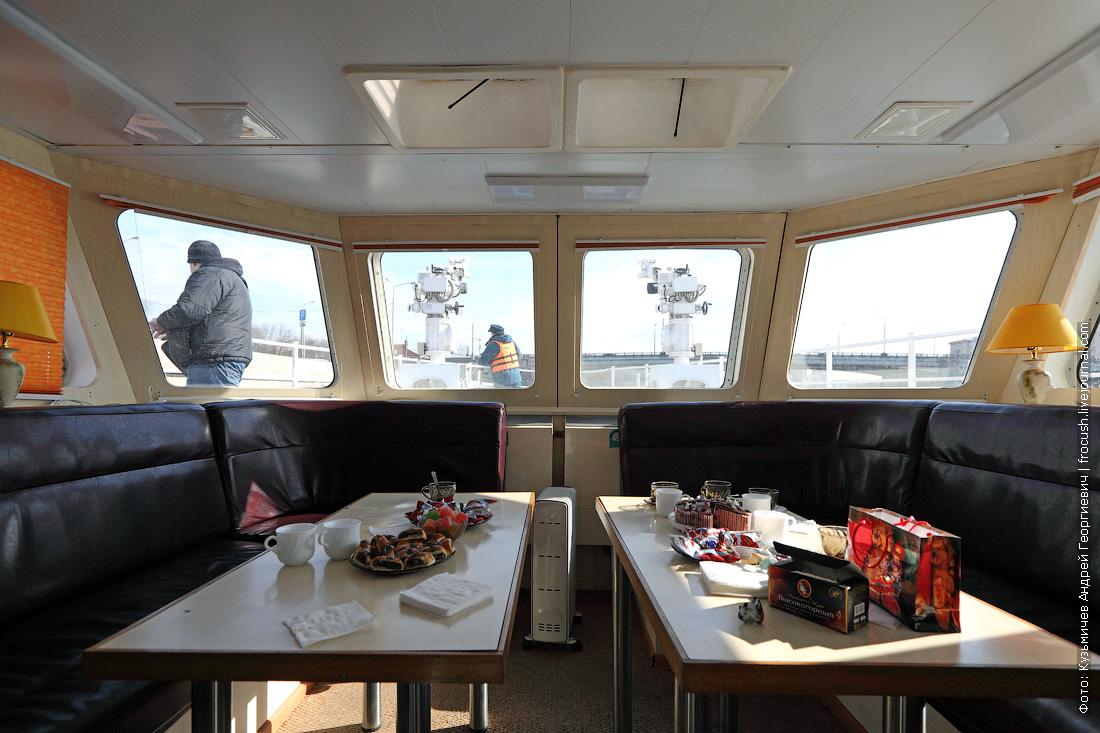 многоцелевой пожарно-спасательный корабль Полковник Чернышев салон отдыха