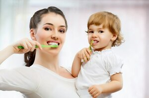 Здоровые зубы для молодой мамы
