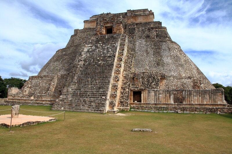 Мексика, Ушмаль - Пирамида волшебника