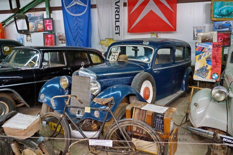 Mercedes-Benz 320 1939 Ломаковский музей старинных автомобилей и мотоциклов, Москва