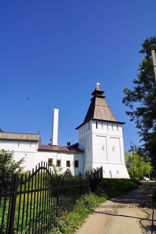 Поваренная башня, Свято-Пафнутиев Боровский монастырь