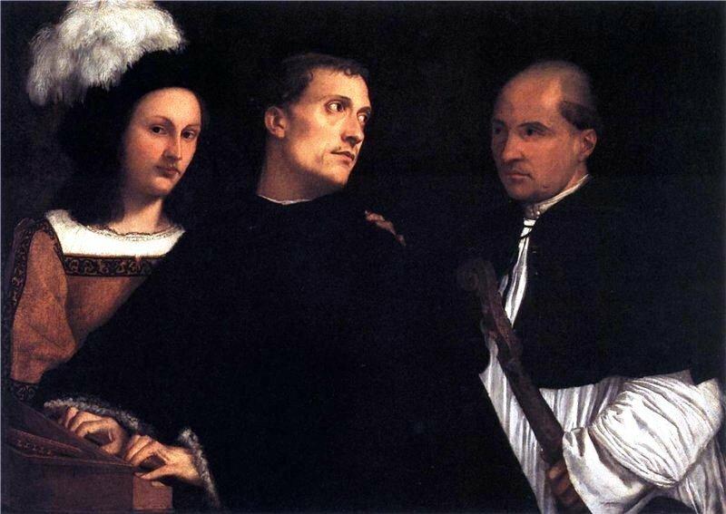 Прерванный концерт. Около 1510 г