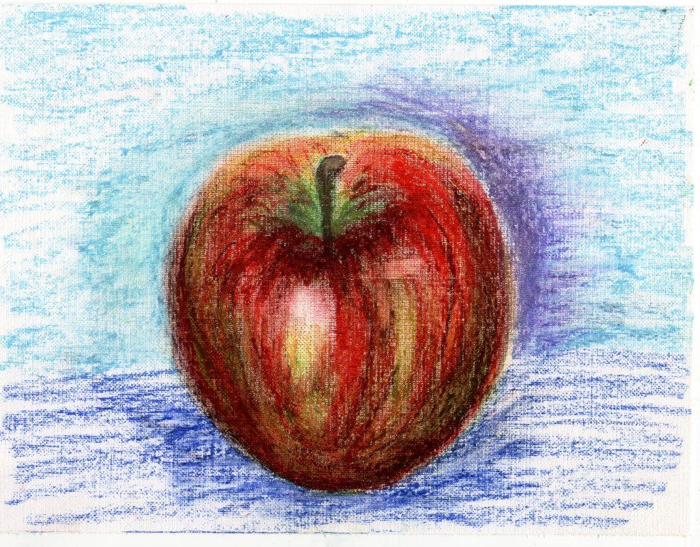 Урок изо яблоко