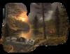 Клипарт Осенние пейзажи.