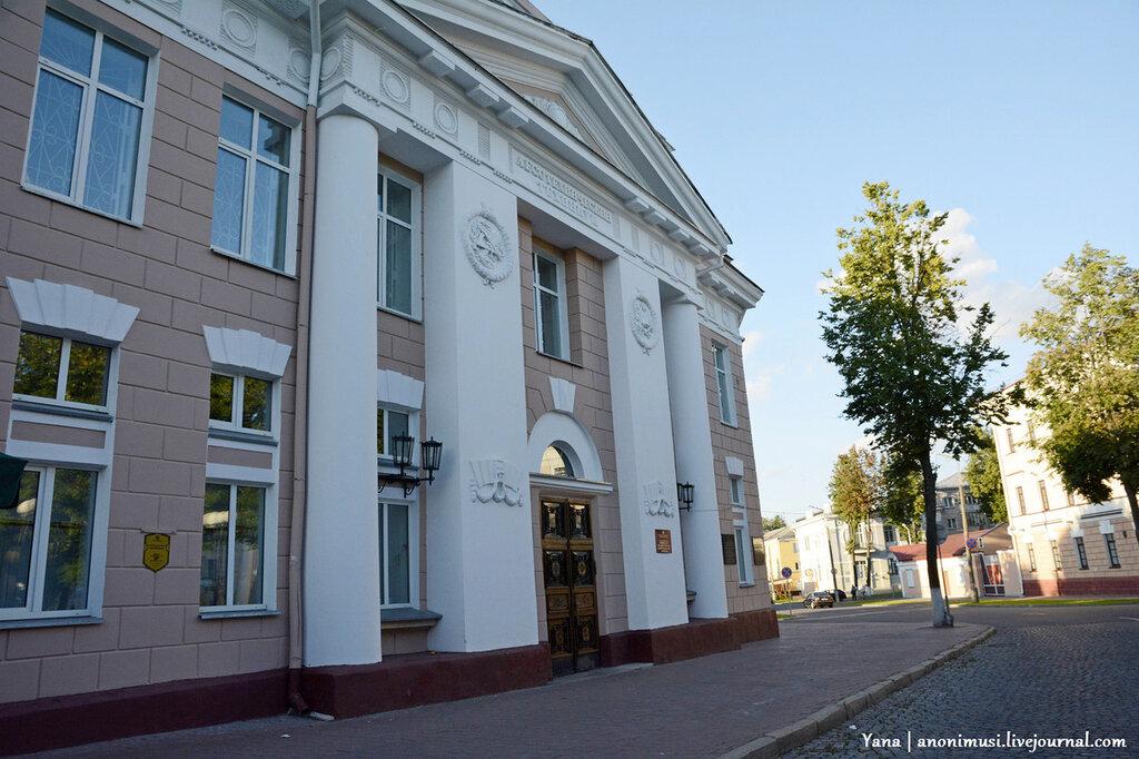 Здание гомельского государственного политехнического колледжа