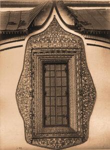 Вид алтарного окна церкви Иоанна Златоуста в Коровниках. Ярославль г.