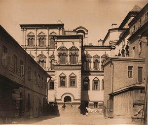 Вид Потешного дворца в Кремле (постройка 1651 г.). Москва г.