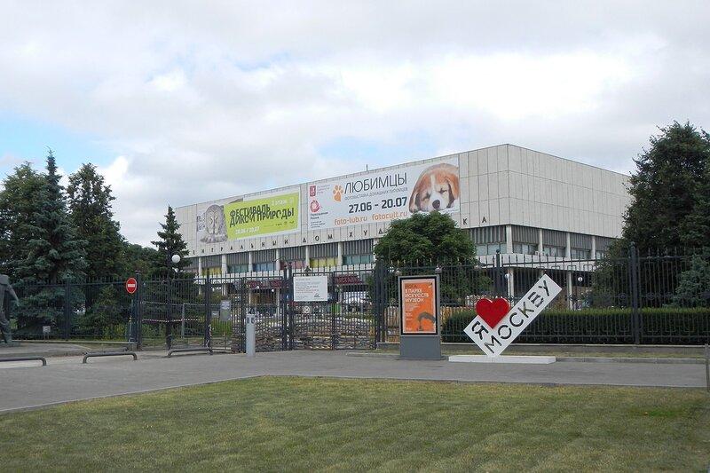 Центральный дом художника в Москве, где проходит Фестиваль дикой природы Золотая Черепаха