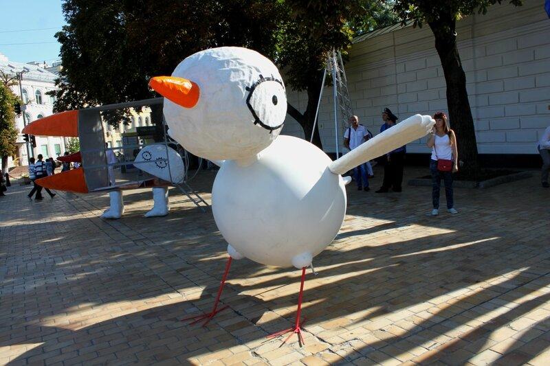 Инсталляция Птица