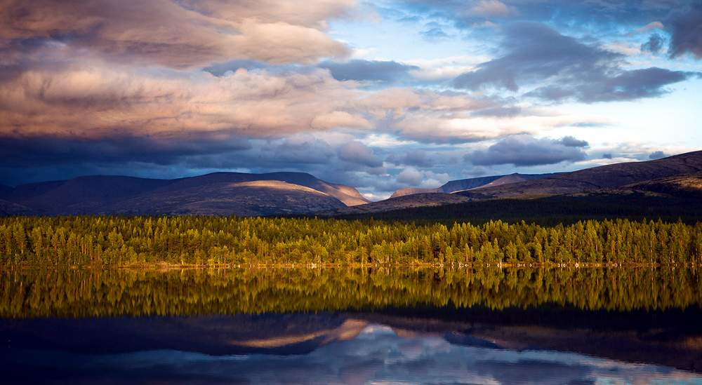 Хибины, Хибинские горы