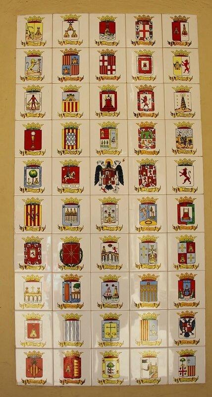 Гербы регионов Испании