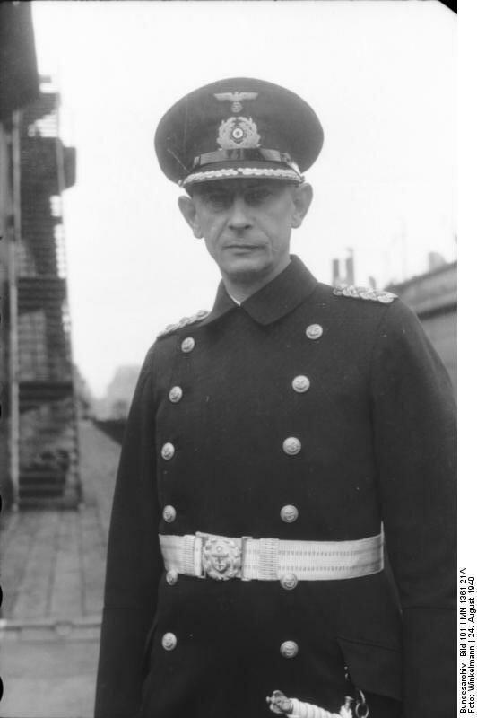 Schlachtschiff Bismarck, Kapitдn Ernst Lindemann