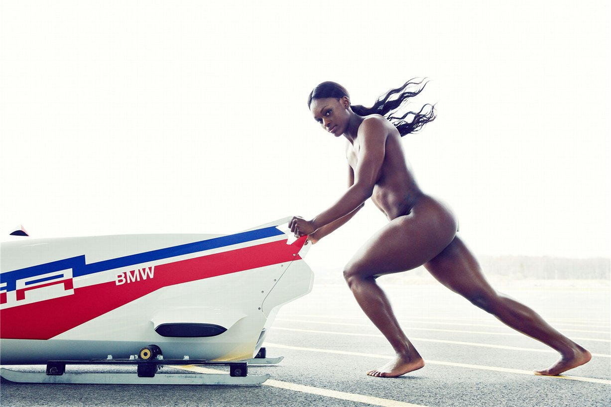 ESPN Magazine Body Issue 2014 - Aja Evans / Аджа Эванс