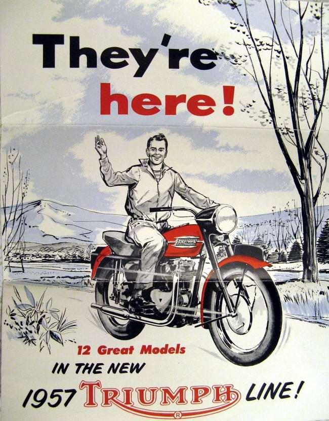 Triumph - Великобритания (1957 год)