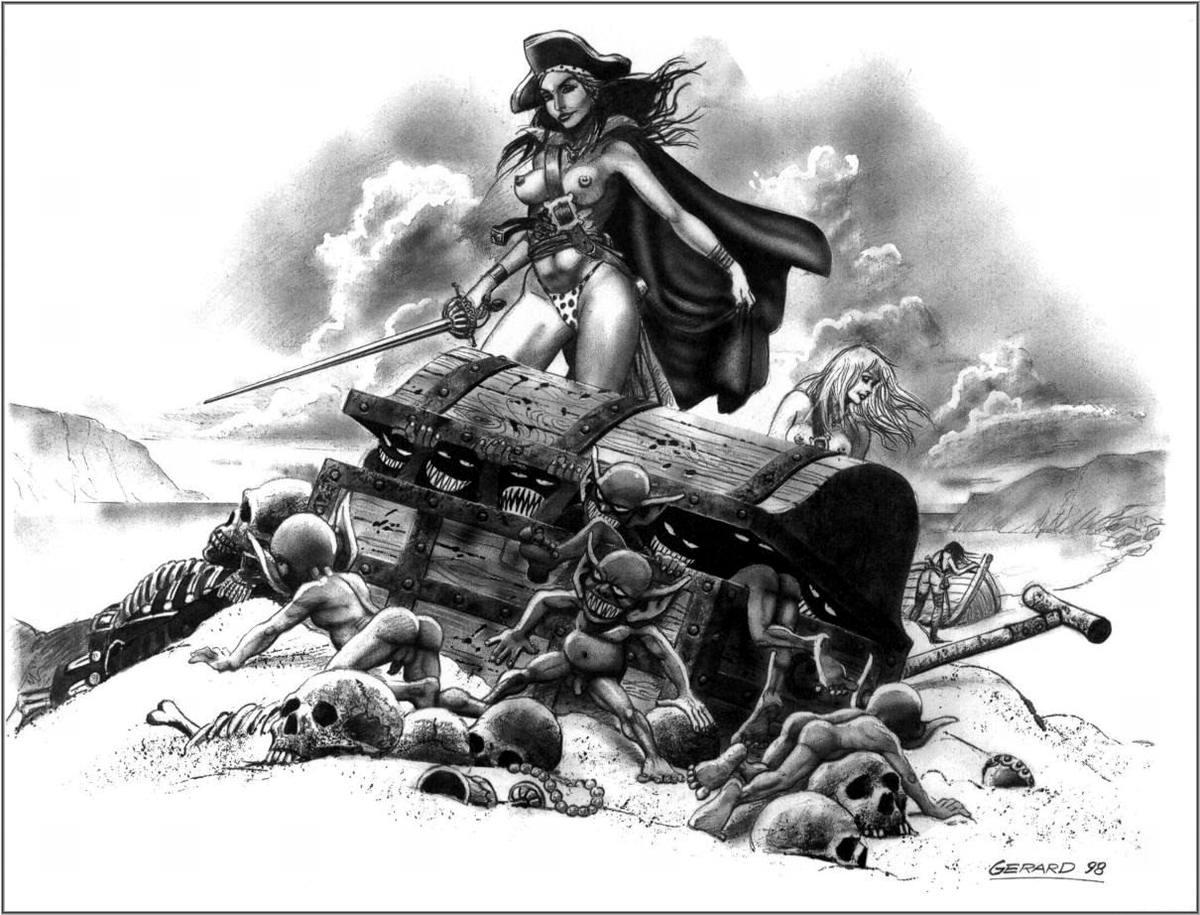Графика: истории из жизни девушек - пираток (78)