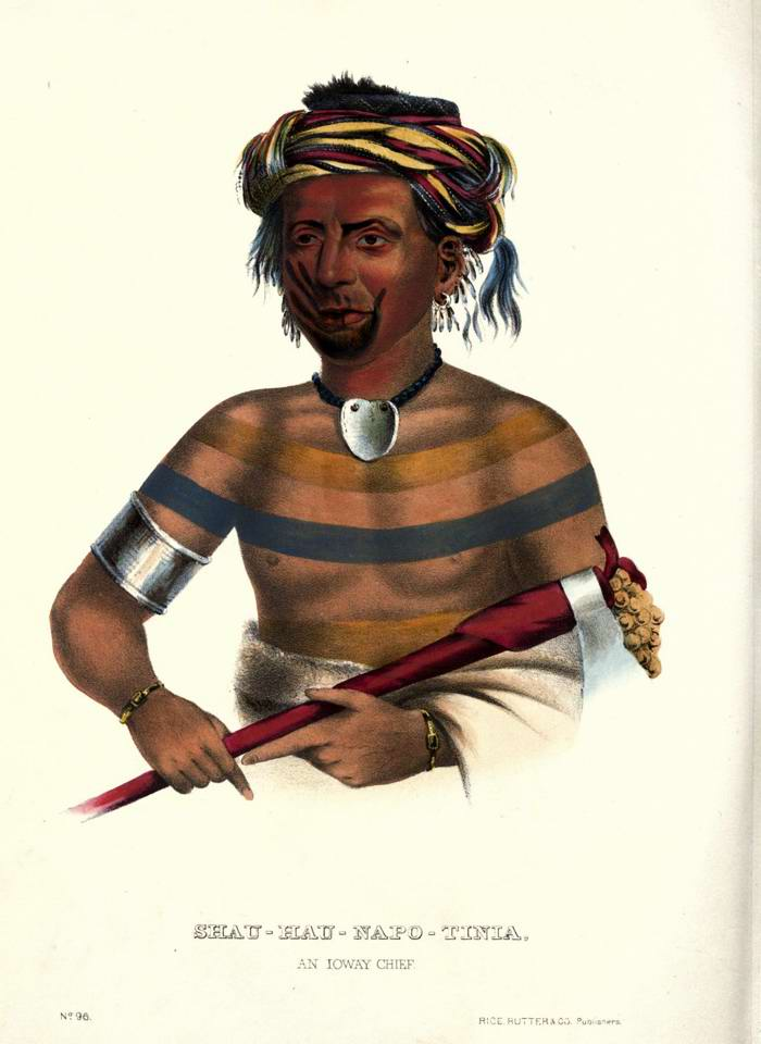 Вождь племени Ioway