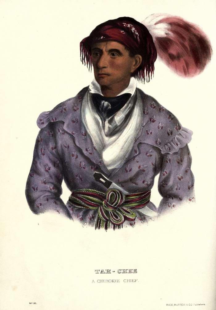 Вождь племени Cherokee
