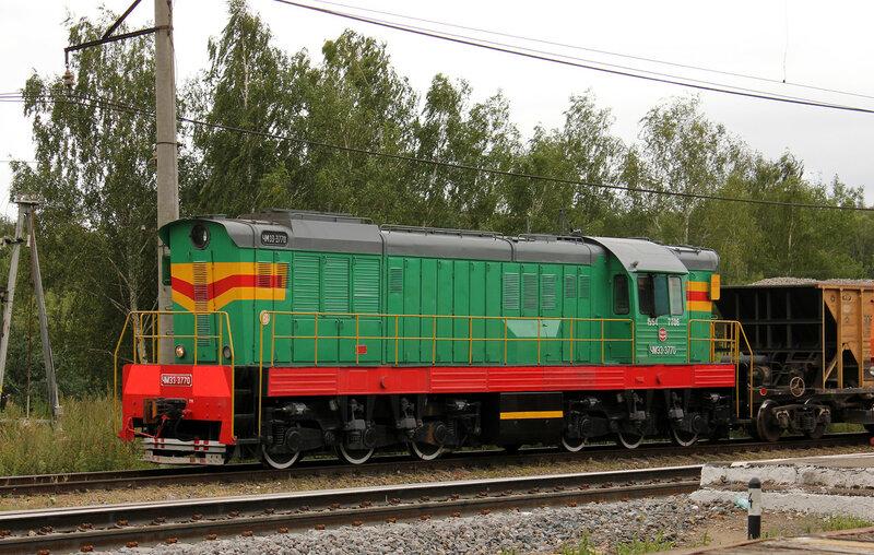 ЧМЭ3-3770 на станции Непецино