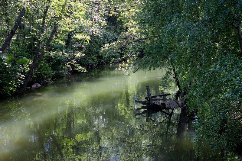 река Vaaksynjoki в Ваксю (Vaksy)