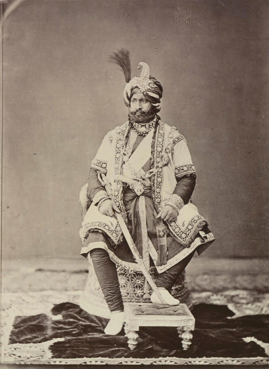 53. Ранбир Сингх, Махараджа Кашмира Kashmir (1830-85)