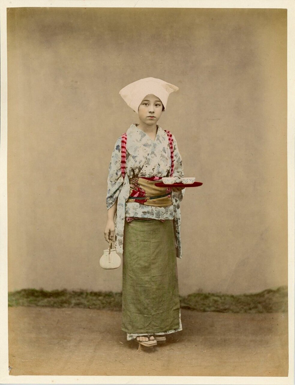 Хозяйка чайной церемонии