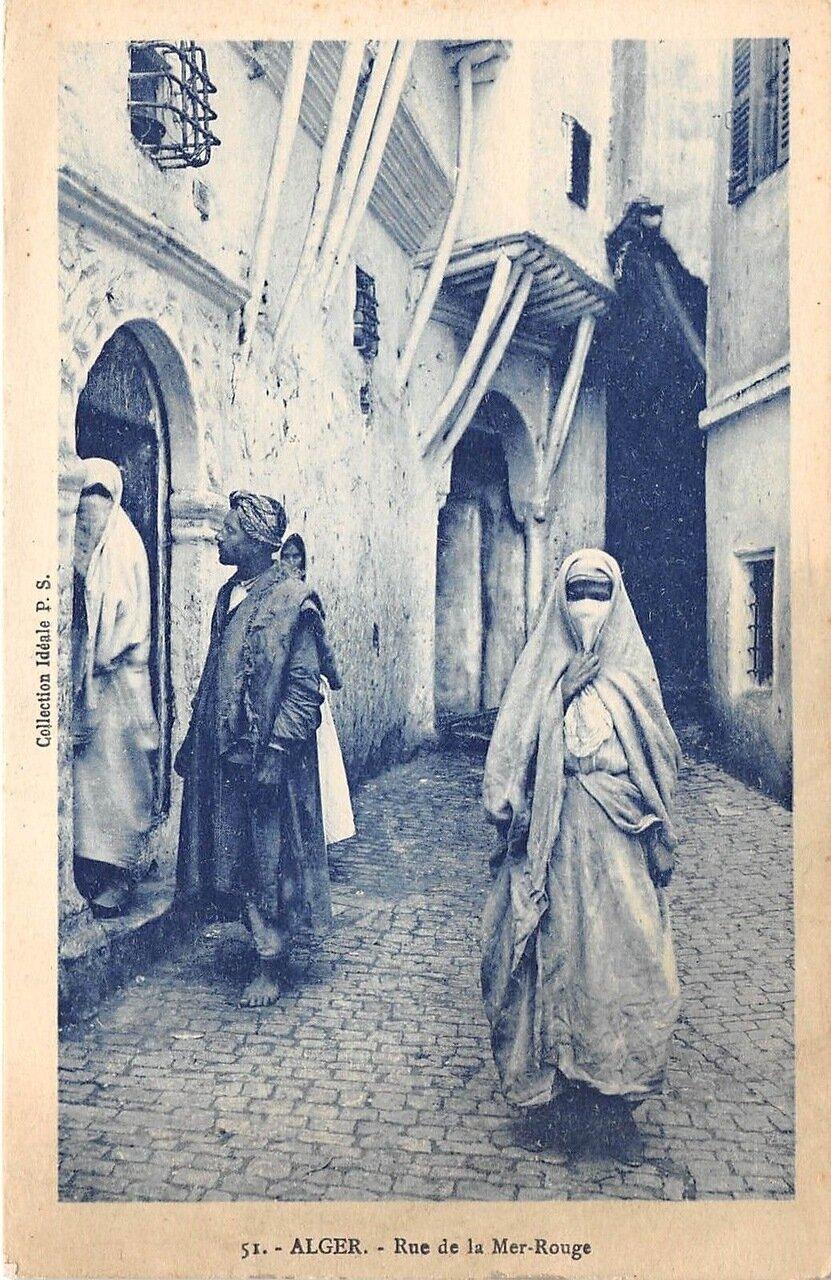 1900-е. Улица Мер-Руж в Алжире