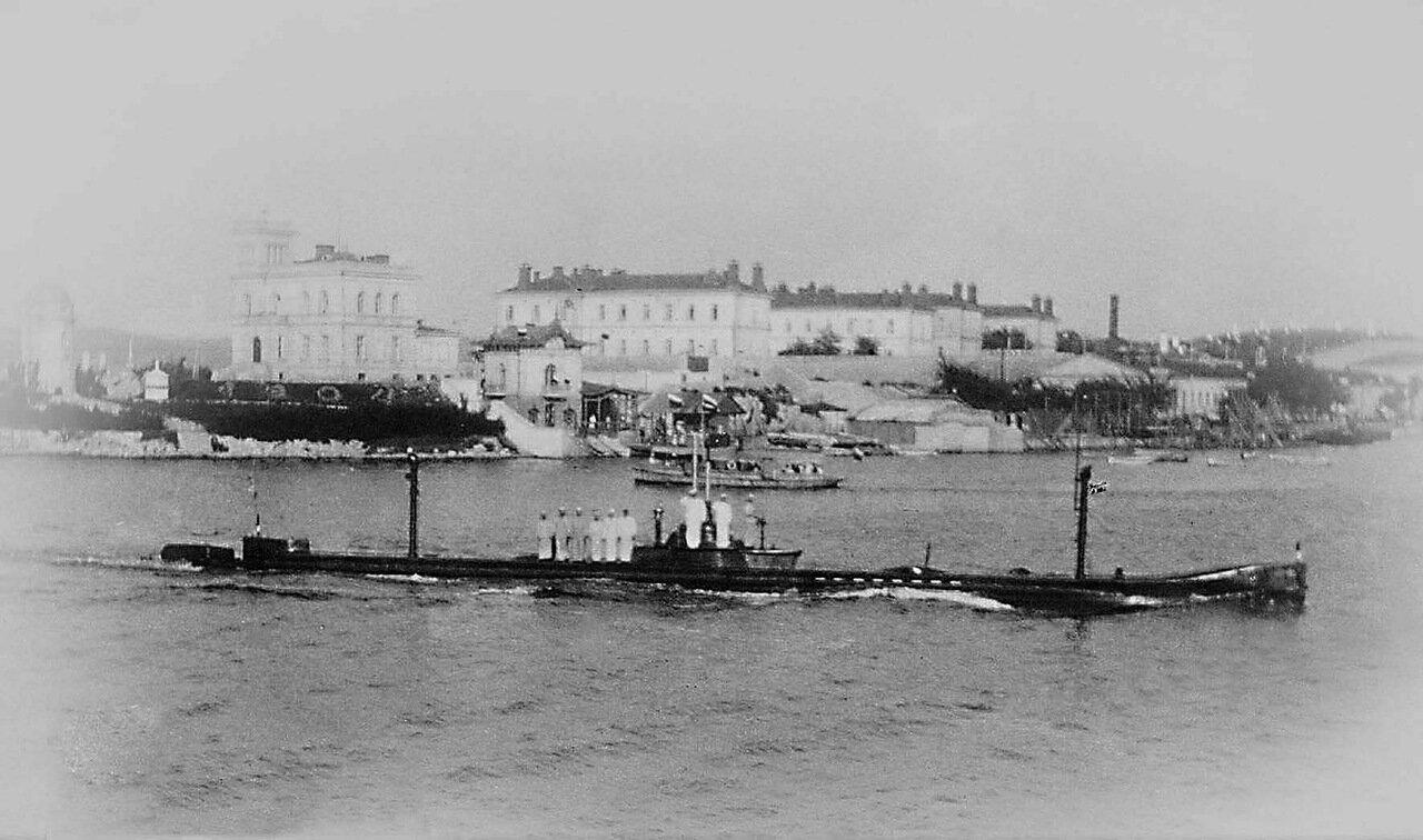 23. Подводная лодка «Камбала»