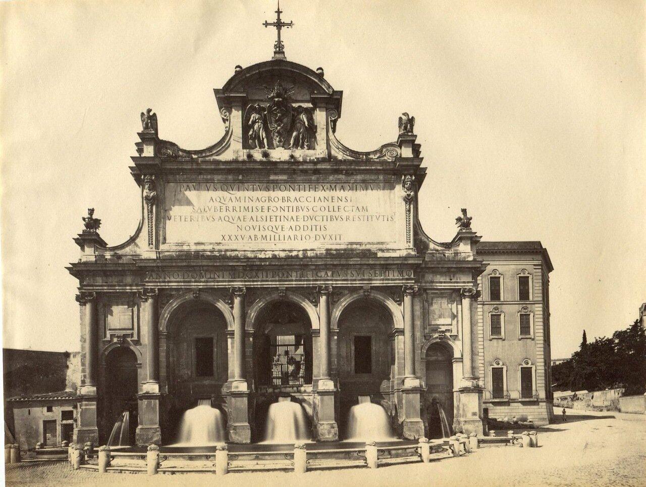Фонтан Аква Паола. 1875.