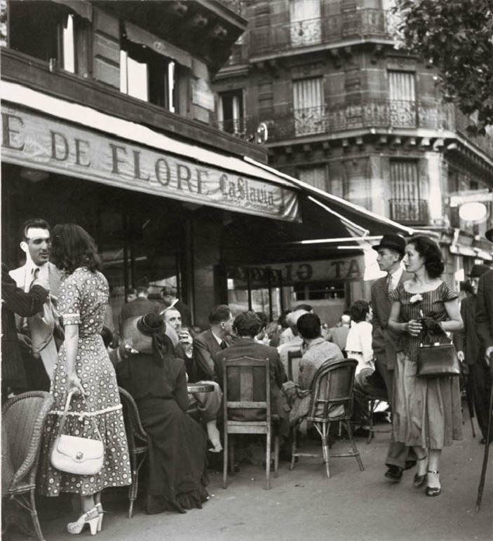1949. Сэн-Жермен де Прэ - Кафе де Флор