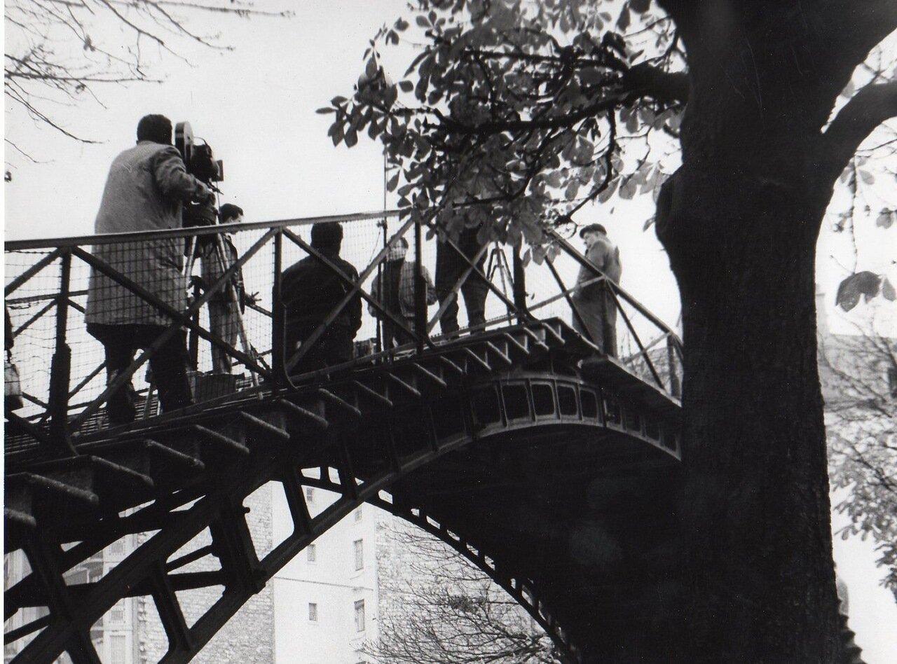 Интервью на мосту