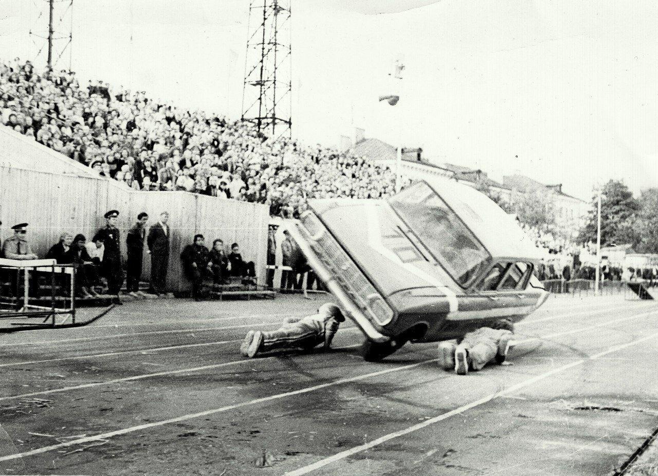 1982. стадион Динамо. День города. 835 лет