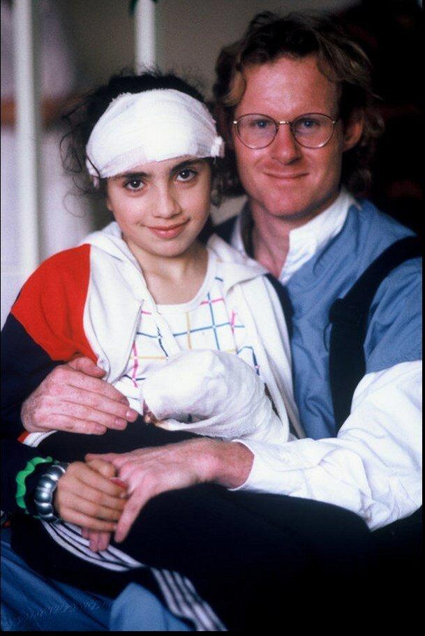 1988. Армения. Девочка, выжившая в Спитаке