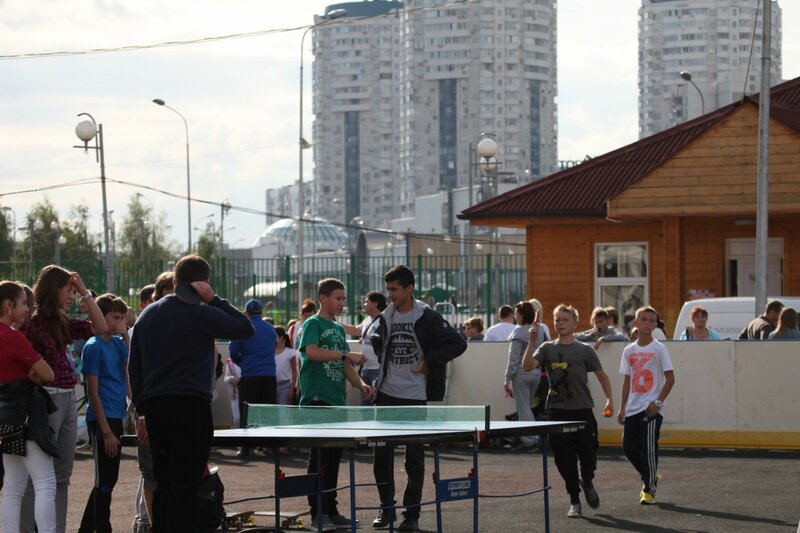 День города, Москва - 2014, Парк Артема Боровика