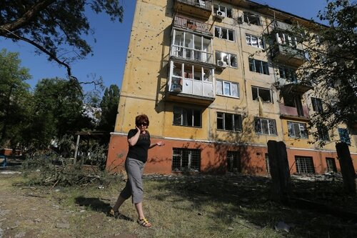 """""""Подавление"""" Юго-Востока Украины - шокирующие кадры"""