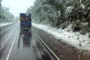В Челябинской области в середине лета выпал снег