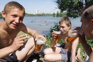 Детский алкоголизм охватывает Молдову