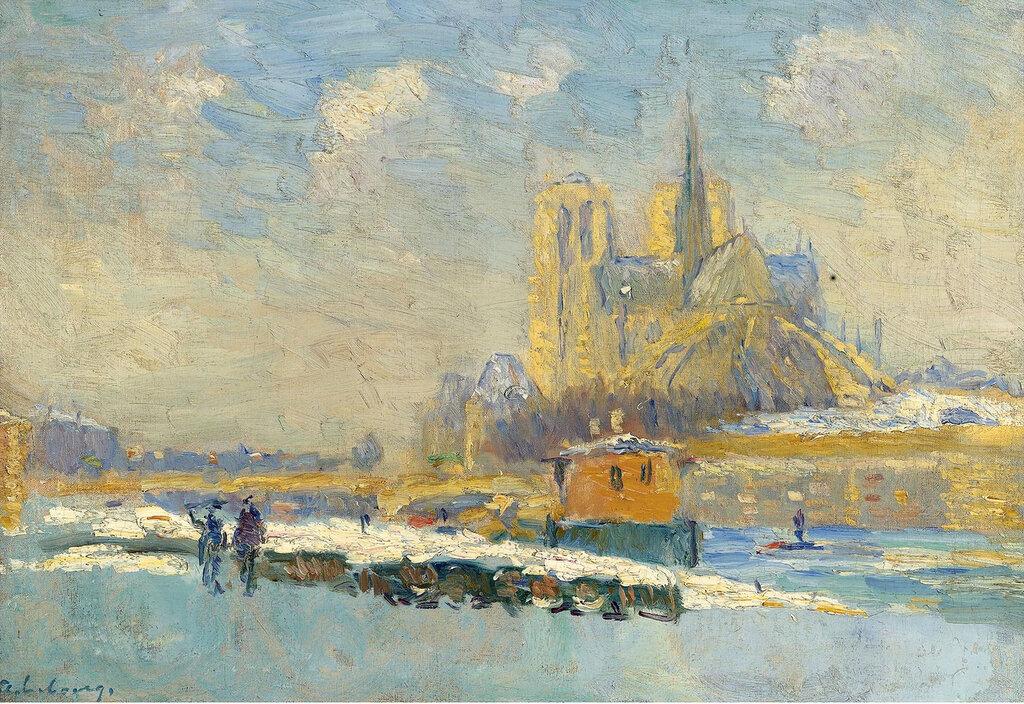 Albert Lebourg - Notre Dame de Paris and the Quay of Tournelle.jpeg