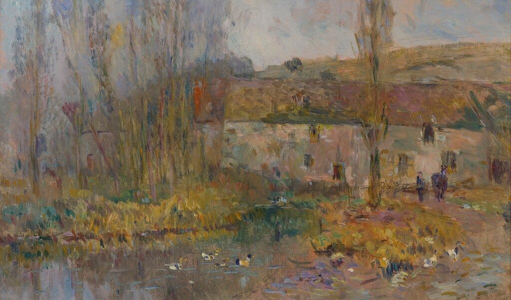 Albert Lebourg - The Watermill in Normandie.jpg