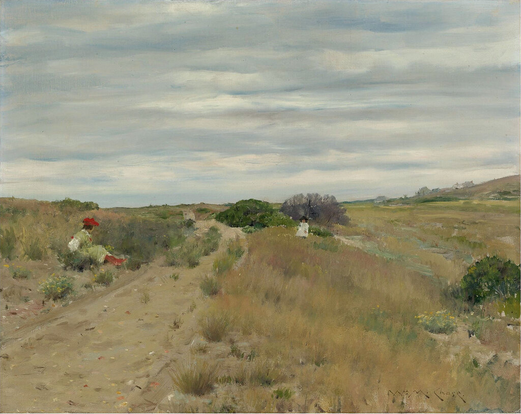 William Merritt Chase - The Old Sand Road.jpeg