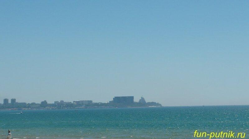 Побережье Анапы - белые дюны, золотой песок