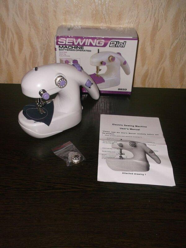 ChinaBuye: Портативная однониточная швейная машинка