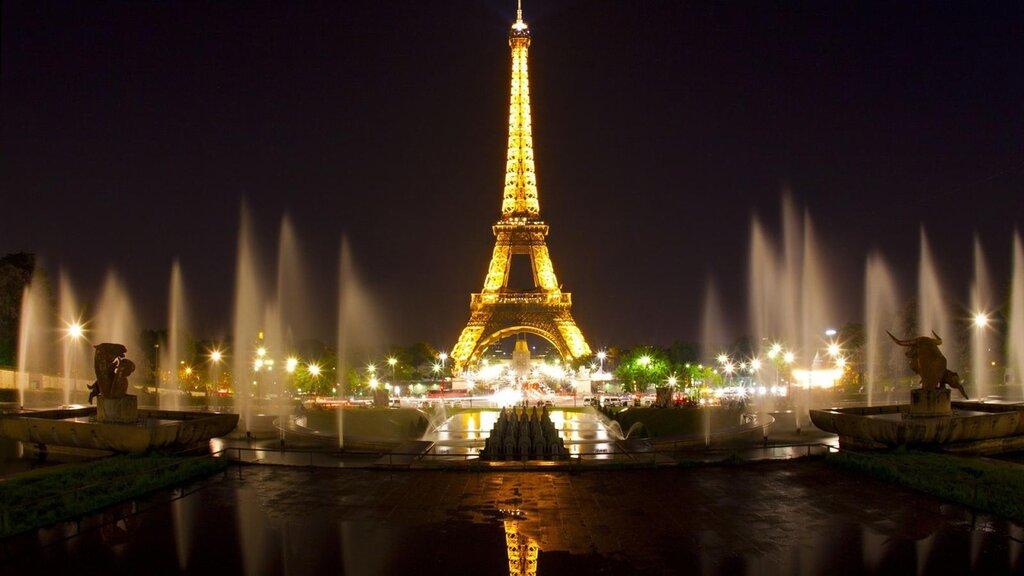 О чем грустишь, ночной Париж?