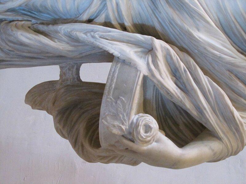 Статуя весталки Тукции (Tuccia). Антонио Коррадини (1688- 1752). Коллекция Барберини