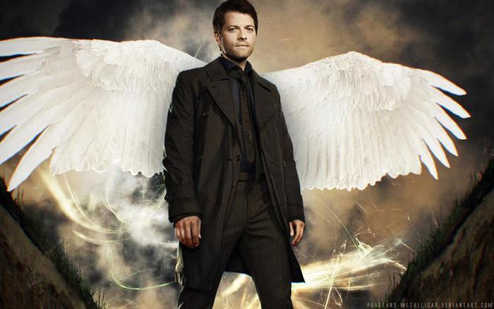 Крылья ангела: кадры, фото и рисунки ангелов Сверхъестественного