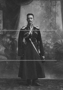 Соколов - офицер конвоя (портрет).