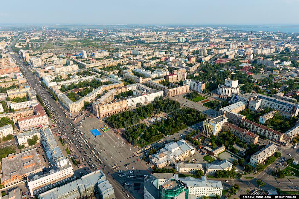 челябинская область фото с вертолета
