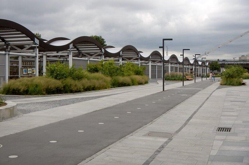Велодорожки в Парке искусств «Музеон»