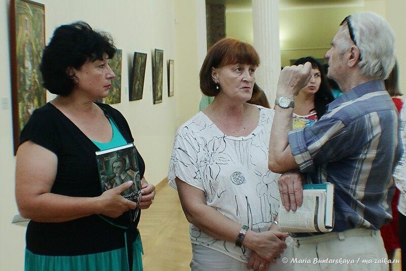 Открытие выставки ЮрияПеткевича, Саратов, Радищевский музей, 04 июля 2014 года