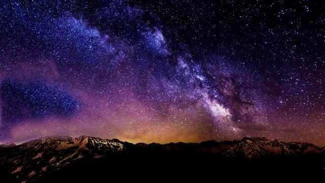звездное небо картинки на рабочий стол телефона № 269974  скачать